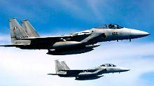 Unter den verfolgten Flugzeugen könnten auch japanische F-15-Jets - wie in diesem Archivfoto zu sehen - sein.