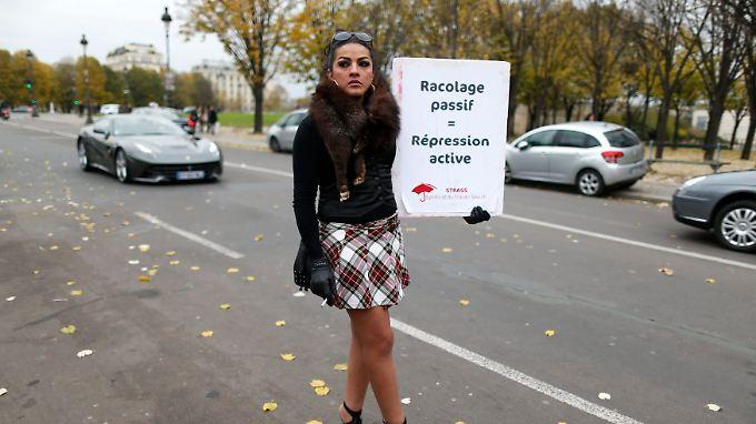In Frankreich gibt es Proteste gegen das neue Gesetz.