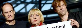 Roth und Campino machen gemeinsame Sache: Tote Hosen im Bundestag