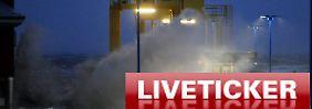 """Liveticker zu Orkan """"Xaver"""": +++ Alle Informationen zu """"Xaver"""" finden Sie hier +++"""