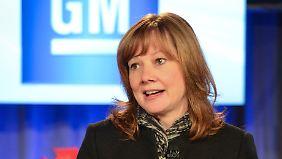 Erst Frau an der Spitze eines großen Autokonzerns: Mary Barra wird GM-Chefin