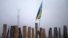 Die Regierungsgegner weiteten ihre Protestlager im Stadtzentrum von Kiew wieder aus.