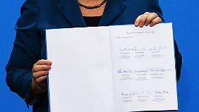 Merkel wird zum dritten Mal vereidigt: Gabriel und Dobrindt messen bereits ihre Kräfte