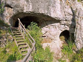 Eingang zur Denisova-Höhle.