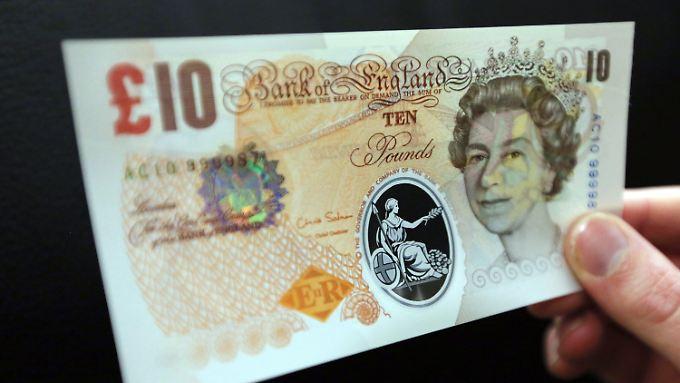Neue Banknoten in Großbritannien: Briten zahlen bald mit Plastik-Geld