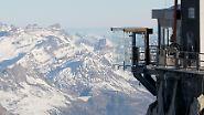 Nervenkitzel in den Alpen: Skywalk über Chamonix lockt Adrenalinjunkies