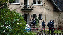 Die beiden wurden mit tödlichen Verletzungen in diesem Wohnhaus gefunden.