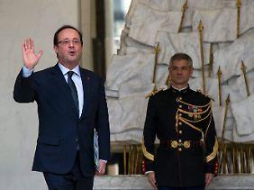Bislang ein glückloser Präsident: François Hollande.