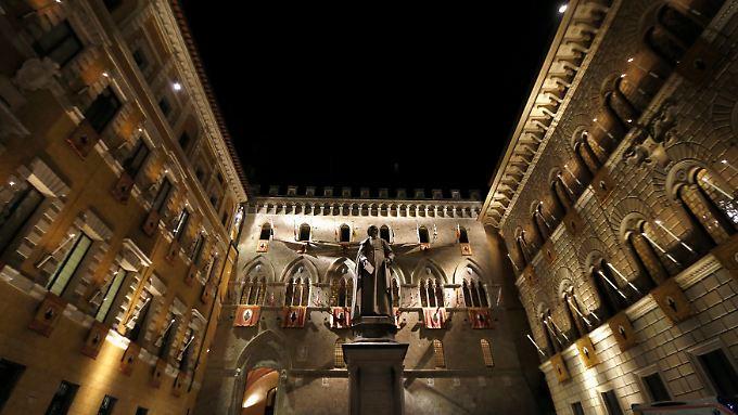 Bankzentrale in Siena.