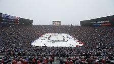 Nun aber hieß es: volles Haus. Bleibt die Frage, wieviele der 105.491 Zuschauer wirklich etwas vom Spiel gesehen haben.