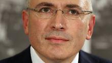"""""""Sie sind verrückt geworden"""": Chodorkowski erwägt Asylantrag in London"""