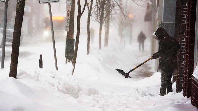 """""""Temperaturen potenziell tödlich"""": USA erleben schwerste Kältewelle seit Jahrzehnten"""