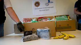 In sieben Kisten war das Kokain, aus Kolumbien kommend, über Hamburg nach Berlin gelangt.