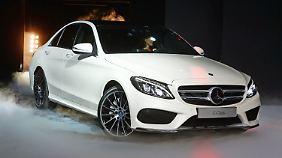 Daimler startet Überholmanöver: C-Klasse lässt in Detroit erstmals die Hüllen fallen