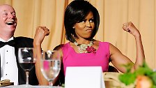 Den positiven Effekt zeigt die topfitte Michelle dann gerne und oft am Beispiel ihrer durchtrainierten Oberarme.