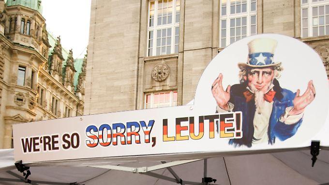 """Ein """"Sorry"""" wird wohl nicht reichen: Die Abhöraktionen der USA in Deutschland werden auf Antrag der Linkspartei erneut im Bundestag erörtert."""