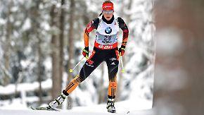 Noch läuft es nicht rund: Neuner glaubt fest an die deutschen Biathleten
