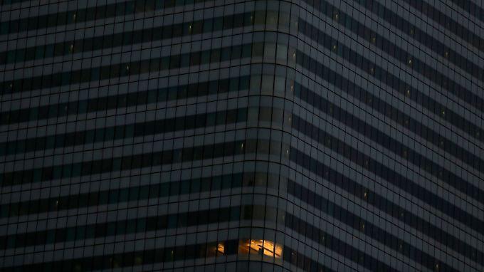 Die HSBC-Zentrale in London. Was dort wohl vor sich geht.