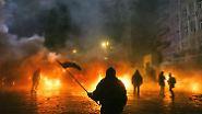 Die Regierung hat Demonstrationen im Kiewer Stadtzentrum bis Anfang März verboten.