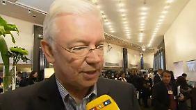 """Roland Koch im n-tv Interview: """"Ich teile die Sorge vor einer Deflation überhaupt nicht"""""""