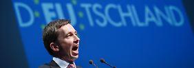 """Kritik an Europa und """"Altparteien"""": AfD wählt Lucke auf Platz eins"""