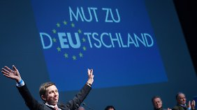 """""""Mut zu Deutschland"""": Bernd Lucke kämpft gegen den europäischen Zentralismus."""