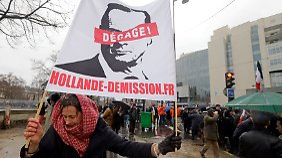Beziehung zu Trierweiler beendet: Franzosen haben Hollandes Liebeseskapaden satt