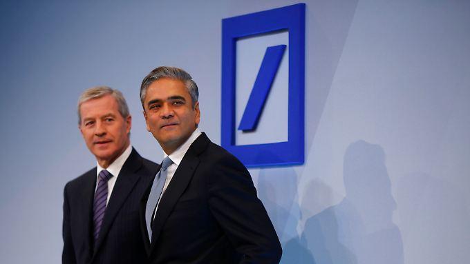 Führungsduo Anshu Jain und Jürgen Fitschen.
