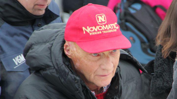 Niki Lauda ließ sich in den Bann von Kitzbühel ziehen.