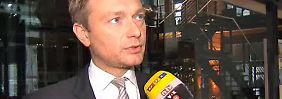 """FDP-Chef Lindner im Interview: Rentenpläne sind """"ein fatales Signal an Europa"""""""