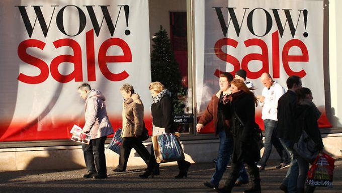 Das Weihnachtsgeschäft lief für die Einzelhändler schlechter als erhofft.