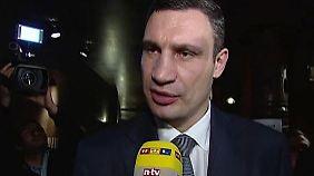 """Klitschko im Interview: """"Wir müssen einen Bürgerkrieg vermeiden"""""""