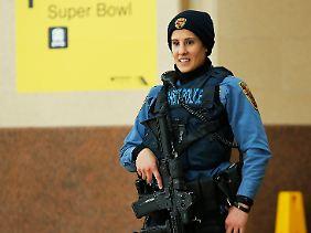 Einer der Höhepunkte im öffentlichen Leben der USA: Schon die sichtbaren Sicherheitsvorkehrungen sind massiv.