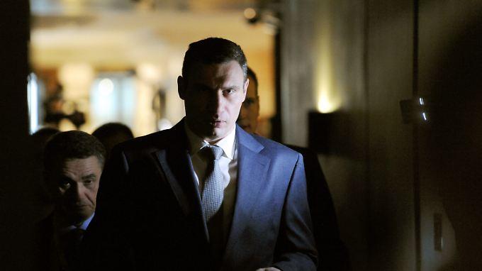 Vitali Klitschko bei der Münchner Sicherheitskonferenz.