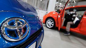 VW setzt zum Überholen an: Toyota produziert über zehn Millionen Autos