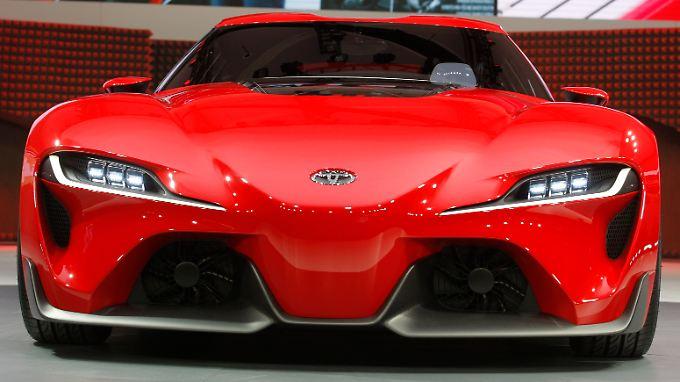 Sportlich, sportlich: Toyota rockt den Gewinn.