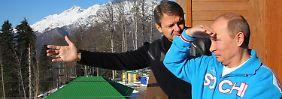Winterolympiade in Sotschi: Putins Spiele sind dramatisch teuer und korrupt