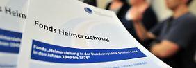 Antragsflut übertrifft Prognosen: Hilfsfonds für DDR-Heimkinder zu klein
