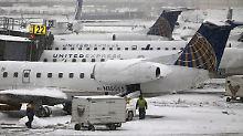 Notstand in zwei Bundestaaten: Winter hält USA in eisigem Griff