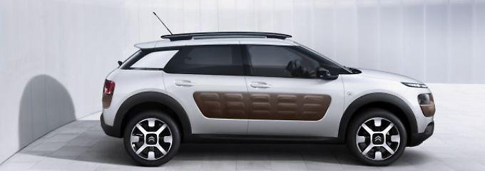Mit dem Cactus bringt Citroen ab Herbst ein Auto in den Handel, das in vielerlei Hinsicht anders ist als andere Autos.