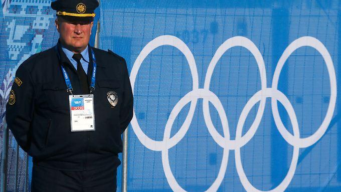 Die Sicherheit in Sotschi ist eines der Themen, die rund um die ersten russischen Winterspiele kontrovers diskutiert werden.
