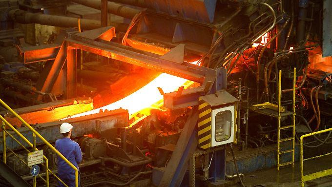 Die Krise bei ArcelorMittal dauert an.