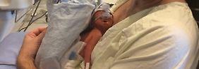 Der kleine Iver ist gesund: Hirntote Kanadierin bringt Baby zur Welt
