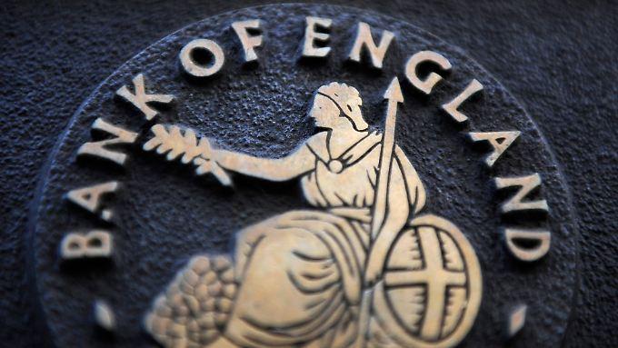 Zinserhöhungen? Nicht so schnell, sagt die BoE.