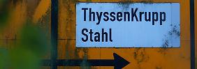 Operatives Plus schlägt Nettoverlust: ThyssenKrupp-Altlast stört Anleger nicht