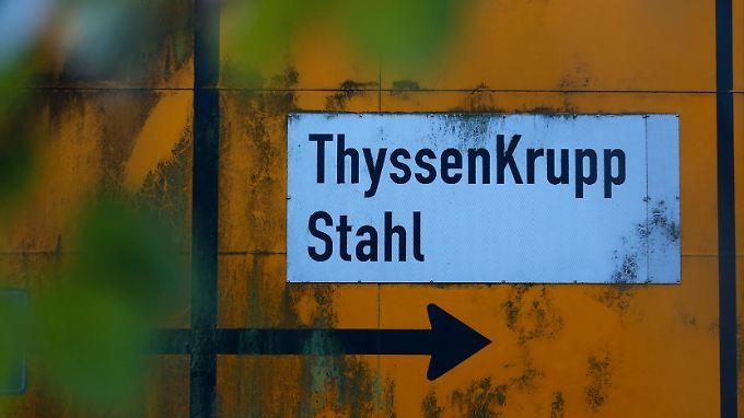 Lichtblick bei Übersee-Stahlwerken: ThyssenKrupp steckt in den roten Zahlen fest