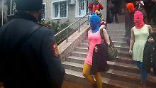 Nach Festnahme in Sotschi: Pussy-Riot-Frauen wieder frei