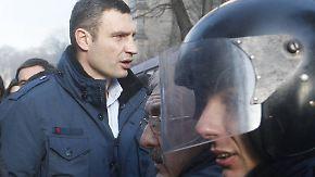 """""""Ohne Kampf kein Sieg"""": Klitschko bleibt auf den Barrikaden"""