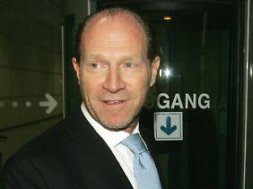 Martin Schlaff, österreichischer Oligarch und Freund ...
