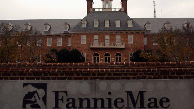 Die Fannie-Mae-Zentrale in Washington: 2013 endet mit einem gigantischen Gewinn.
